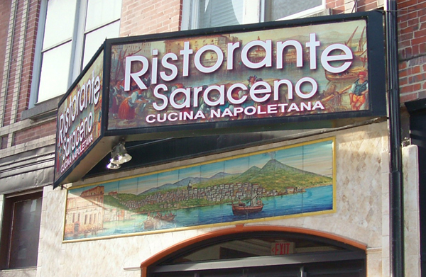 Ristorante Saraceno in the North End